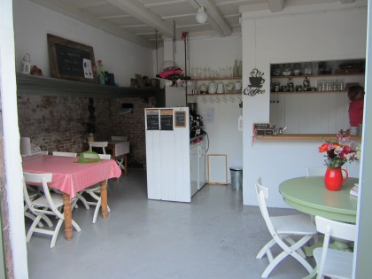 het verbouwde bakhuisje